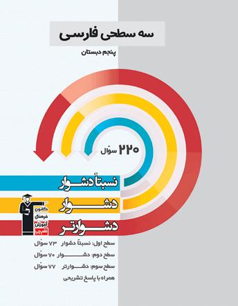 سه سطحی فارسی پنجم دبستان