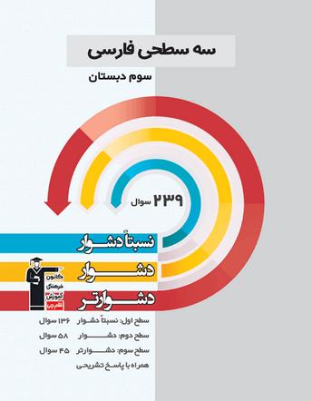 سه سطحی فارسی سوم دبستان